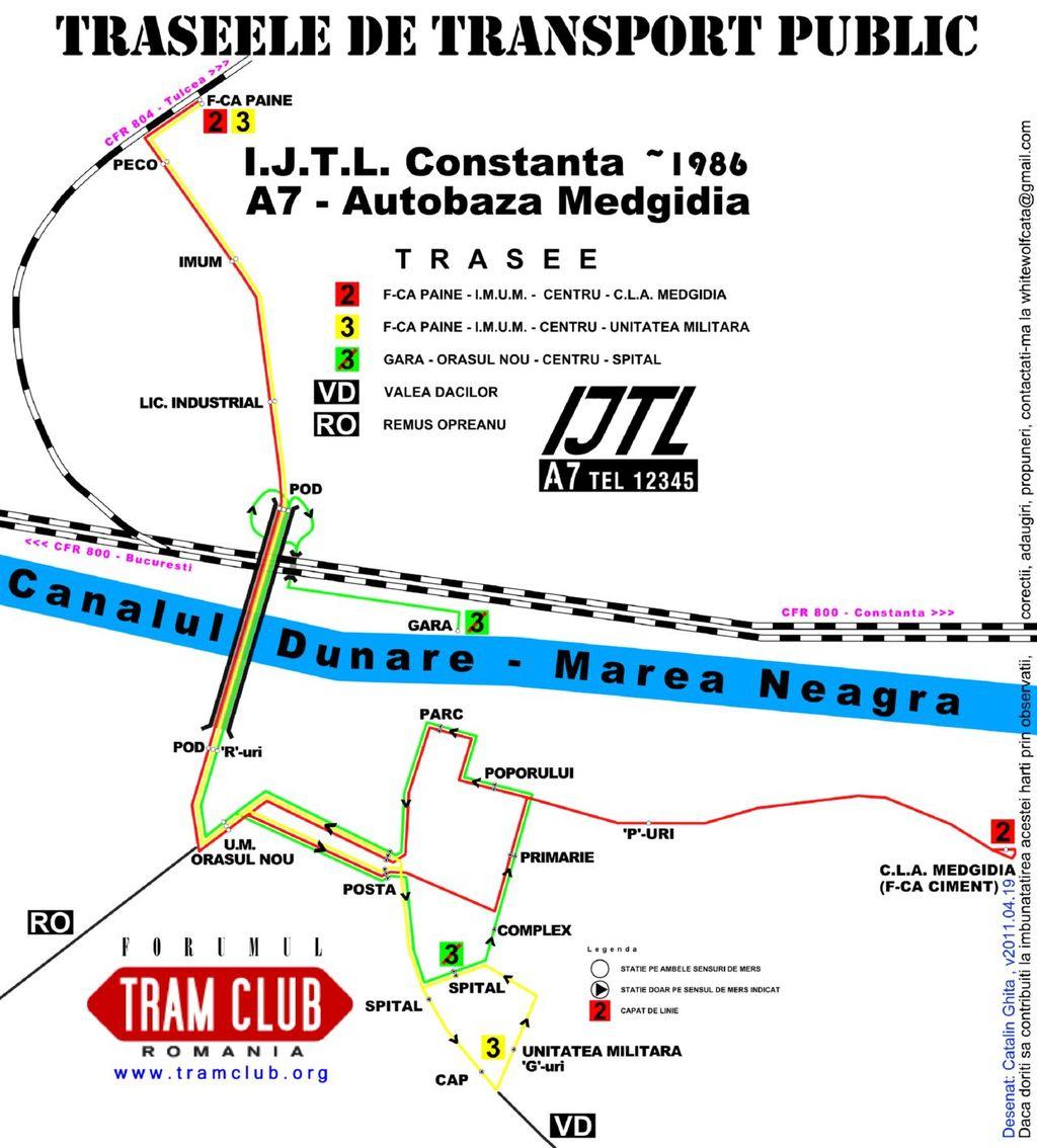 Harti Cu Transportul Public Urban Din Romania